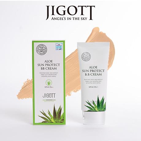Kem BB Cream Aloe Sun Protect - JIGOTT SPF41 PA++ 1