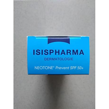 Kem che khuyết điểm kết hợp Chống nắng Neotone Prevent SPF50 Isis Pharma 3