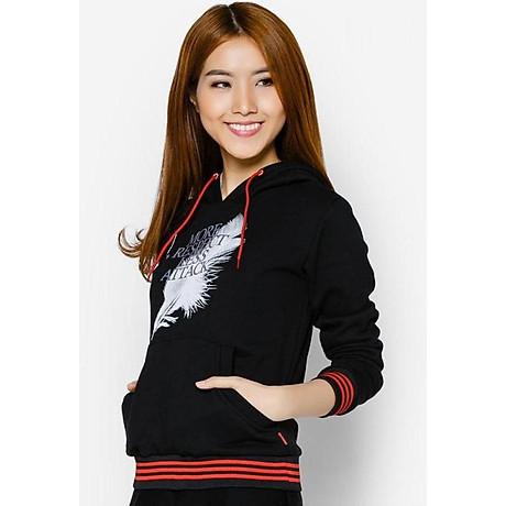 Áo khoác nữ cổ chui hoodie Phúc An 5