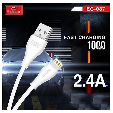 Dây Cáp Sạc Earldom 1M chân Micro - Type C - Lightning EC-087 -HÀNG CHÍNH HÃNG 100% (Giao màu ngẫu nhiên) 6