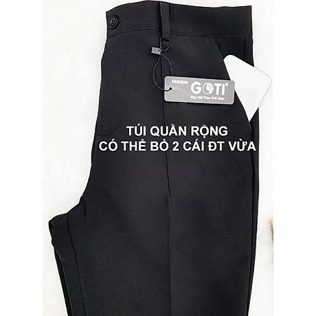 Quần tây nữ công sở kiểu quần tây dáng đứng GOTI 3089 4