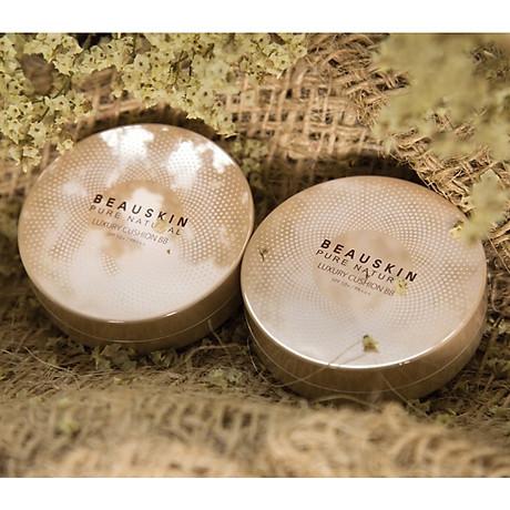 Phấn nước mỏng mịn, che phủ tốt Beauskin Luxury Cushion Hàn Quốc 2x11g (Thêm lõi) tặng kèm móc khóa cute 6