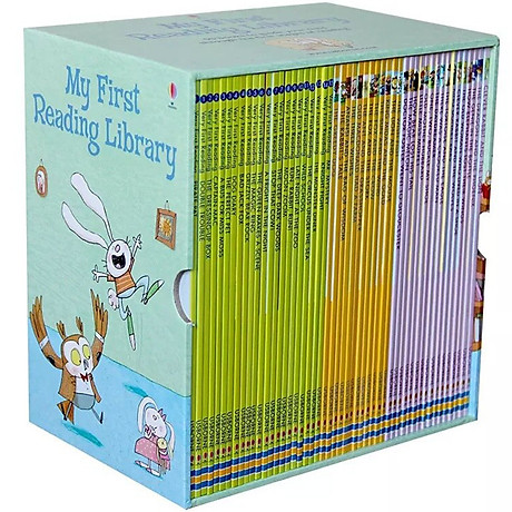 Usborne My First Reading Library - Bộ Xanh 50 cuốn 3