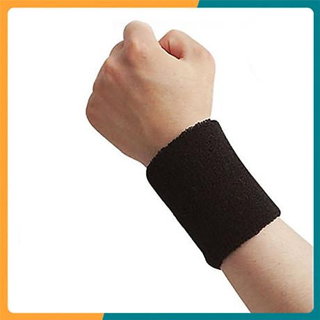 Băng cổ tay thấm mồ hôi thể thao nam nữ Boer 0230 Sports Bandage Aol (1 chiếc) - Băng thấm mồ hôi, cuốn cổ tay thể thao - Chạy bộ, đạp xe, bóng đá, bóng bàn, bóng chuyền, hoạt động ngoài trời - Hàng chính hãng 1