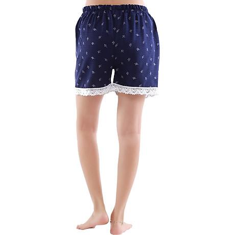 Combo 4 quần short nữ hoạ tiết thổ cẩm Phúc An 3014 4