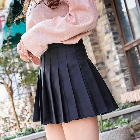 Chân Váy TennisKẻ Caro Hàn Quốc Siêu Xinh VT01 6