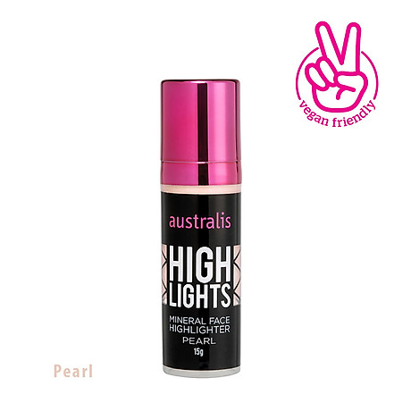 Kem Bắt Sáng Dạng Lỏng Pearl Mineral Face Highlighter Australis Úc 15g 4