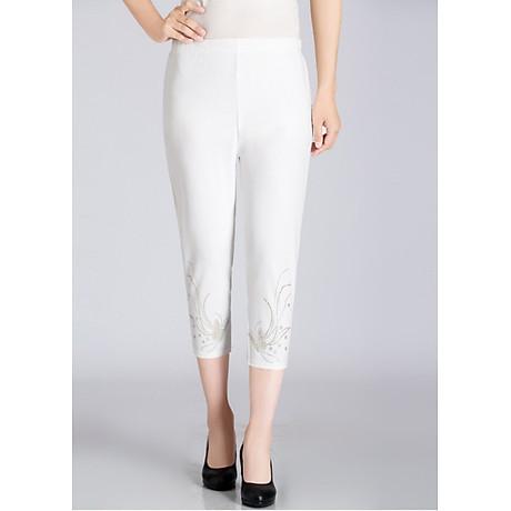 Quần legging nữ co giãn đính cườm Haint Boutique lg05 2