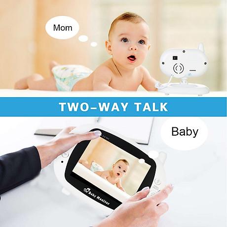 Máy báo khóc giúp mẹ trông bé dễ dàng hơn ( Tặng 01 móc khóa 7in1 ) 7