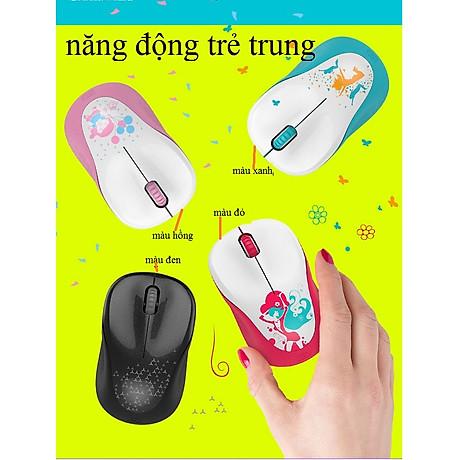 CHUỘT KHÔNG DÂY VĂN PHÒNG V10 - Hàng Cao Cấp (Tặng kèm lót chuột) 3