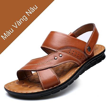 Giày Sandal phong cách thời trang Nhật Bản đế mềm chất liệu da bò thật phù hợp với các mùa trong năm mã 12129 2