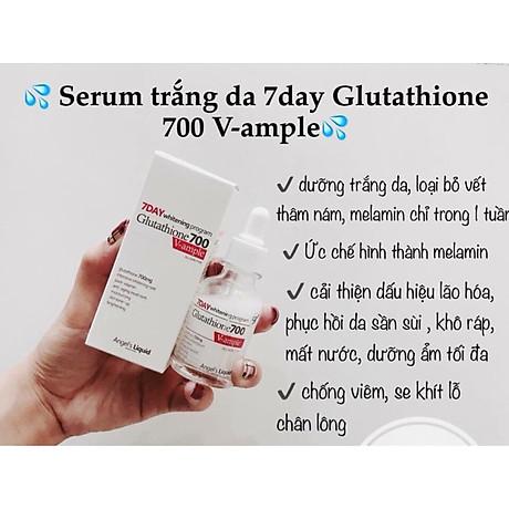 Huyết Thanh Trắng Da 7 Day Whitening Program Glutathione 700 V Ample 5