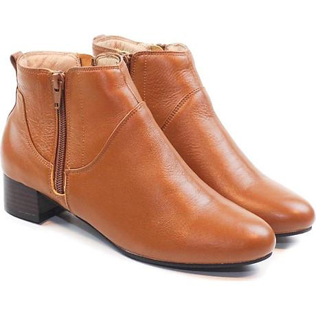 Giày Boot Nữ Da Thật 3cm Pixie P697 2