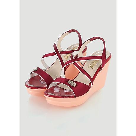 Giày nữ Huy Hoàng màu đỏ HT7065 1