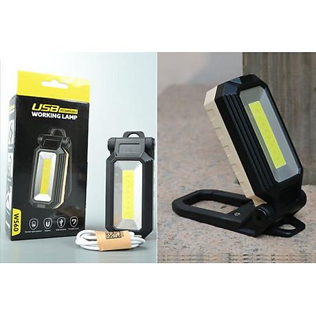 Đèn led cắm trại sạc điện W560COB (Tặng kèm miếng thép đa năng 11in1) 6