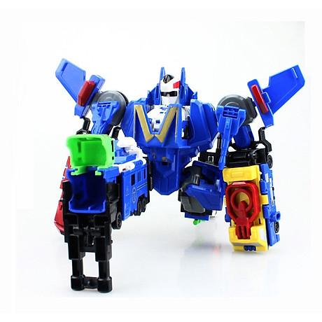 Bộ đồ chơi Robot lắp ghép biến hình cho bé yêu 4