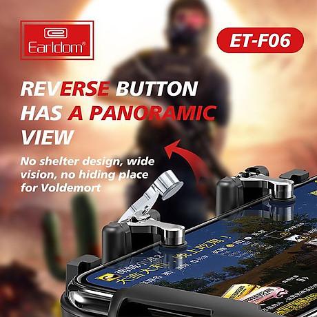 Tay cầm chơi gane điện thoại ( 3 phiên bản) có tản nhiệt pubg freefire Ros kết nối ngón linh hoạt - Hàng chính hãng 3