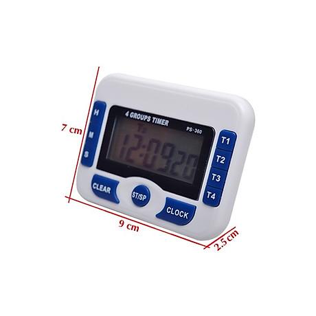 Đồng hồ bấm giờ có chế độ đếm ngược mini V2 (Tặng kèm miếng thép đa năng 11in1) 5