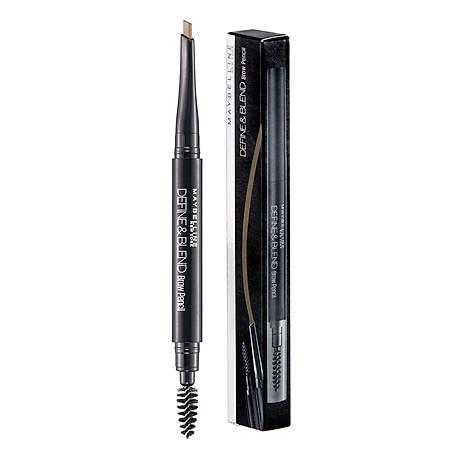 Chì Kẻ Mày 2 Đầu Sắc Nét Tự Nhiên Maybelline New York Define & Blend Brow Pencil 0.16g 1