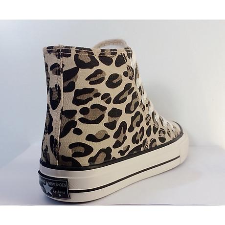 Giày cao cổ vằn đen 4