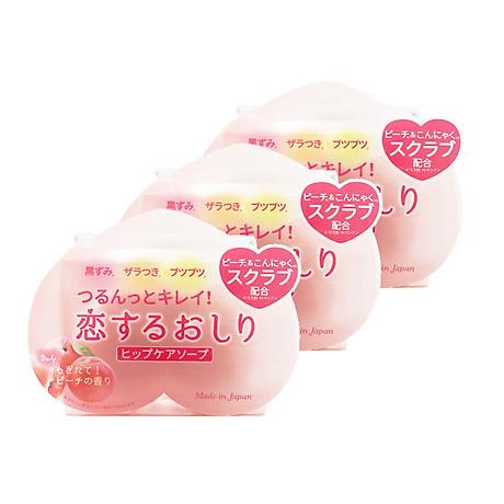 Combo 3 Xà Phòng Cải Thiện Thâm Mông Pelican Hip Care Soap Nội Địa Nhật 1