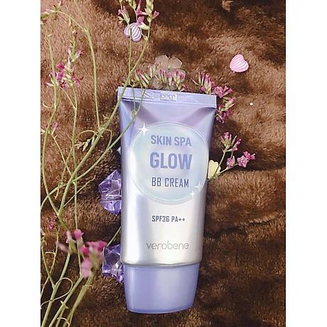 Kem Nền Trang Điểm, Chống Nắng _Verobene Skin Spa Glow BB Cream SPF36 PA++ 40ml 3