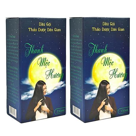 Combo 2 chai Dầu gội thảo dược Thanh Mộc Hương 350ml 1