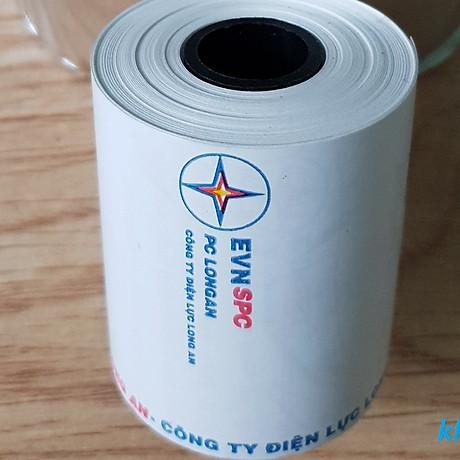 sét 10 cuộn Giấy Pos K57x35, Giấy in nhiệt, in bill K57 chất lượng OJI Nhật bản 2
