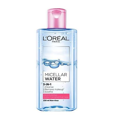Nươ c tâ y trang Loreal Micellar Water 3-in-1 Moisturizing Even For Sensitive Skin 1