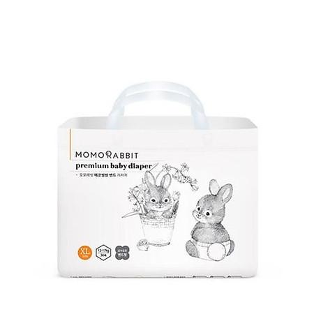 Bỉm Tã Dán Momo Rabbit size XL 36 miếng (Bé từ 12 - 17kg) 1