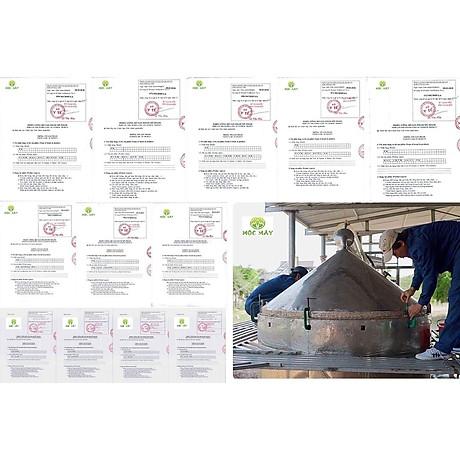 Tinh dầu hoa Sen Trắng 100ml Mộc Mây - tinh dầu thiên nhiên nguyên chất 100% - chất lượng và mùi hương vượt trội - Có kiểm định 9