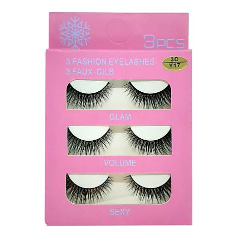 Mi giả 3 Fashion Eyelashes 3 Faux - Cils (kiểu mi 3D Y17) 1