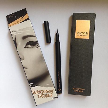Bút Kẻ Mắt Nước Siêu Lì - Sắc Mảnh Vacosi Waterproof Eyeliner Pen 3