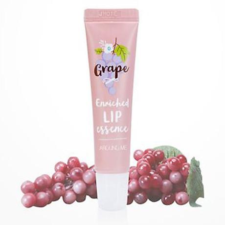 Son dưỡng thâm môi Around Me Enriched Lip Essence Hàn Quốc 8.7g (Hương nho) + Móc khóa 2