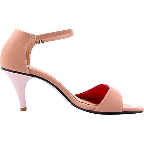 Giày Sandal Nữ Cao Gót Huy Hoàng HT7060 - Nude 2