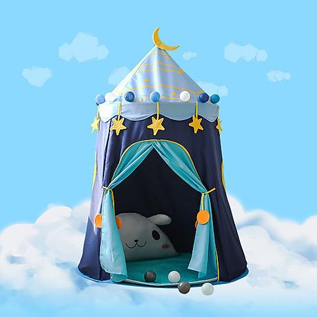 Lều hoàng tử - công chúa cho bé có đèn, lều cho bé PR001 (giao màu ngẫu nhiên) 1