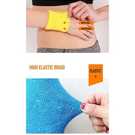 Băng cổ tay thấm mồ hôi thể thao nam nữ Boer 0230 Sports Bandage Aol (1 chiếc) - Băng thấm mồ hôi, cuốn cổ tay thể thao - Chạy bộ, đạp xe, bóng đá, bóng bàn, bóng chuyền, hoạt động ngoài trời - Hàng chính hãng 6