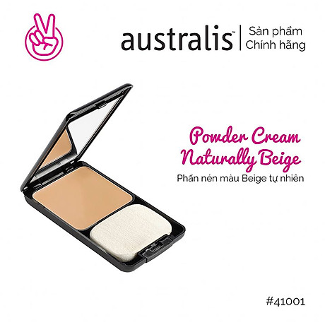 Phấn Nền Dạng Kem 3 Trong 1 Powder Cream Australis Úc 2