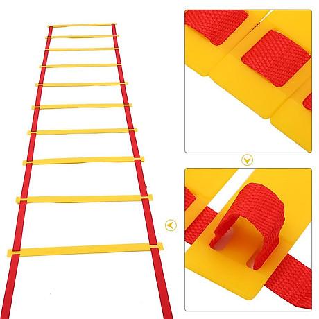 Thang dây thể thao luyện thể lực bóng đá RED Yellow, dây tập thể lực - DONGDONG 3
