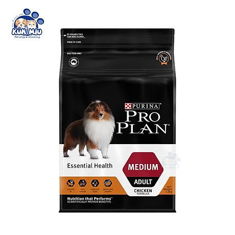 Thức Ăn Cho Chó Trưởng thành Vóc trung bình Purina ProPlan Medium Adult 2.5kg 1