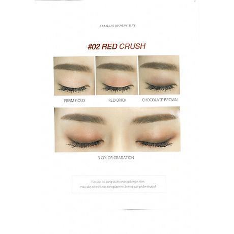 Combo màu phấn mắt Melomeli MAGIC SPELL EYESHADOW RED CRUSH 4