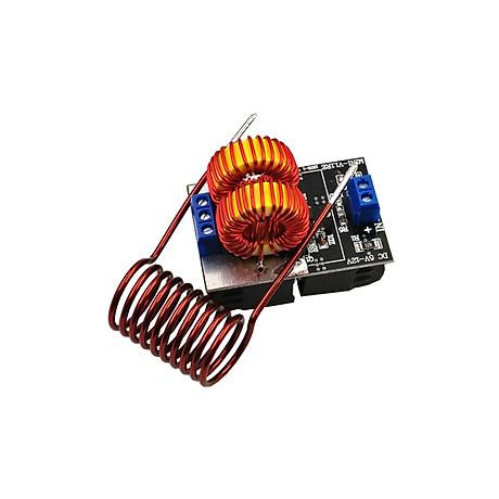 Mạch Nung Cao Tần ZVS Mini 120W 5V-12VDC ( tặng 02 kẹp nút dây điện) 1