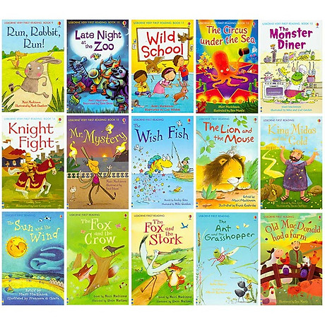 Usborne My First Reading Library - Bộ Xanh 50 cuốn 6