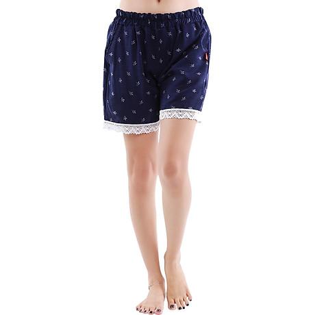 Combo 4 quần short nữ hoạ tiết thổ cẩm Phúc An 3014 2