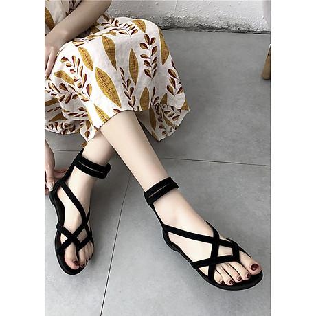 Giày Sandal Chiến Binh Xỏ Ngón Đế bệt 4