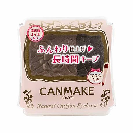 Bột Chân Mày Canmake Natural Chiffon Eyebrow 1