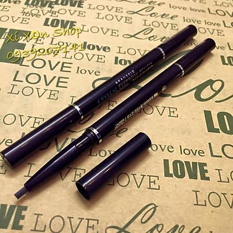 Chì kẻ chân mày Beauskin Crystal Eyebrow Pencil Hàn Quốc + Móc khóa 5