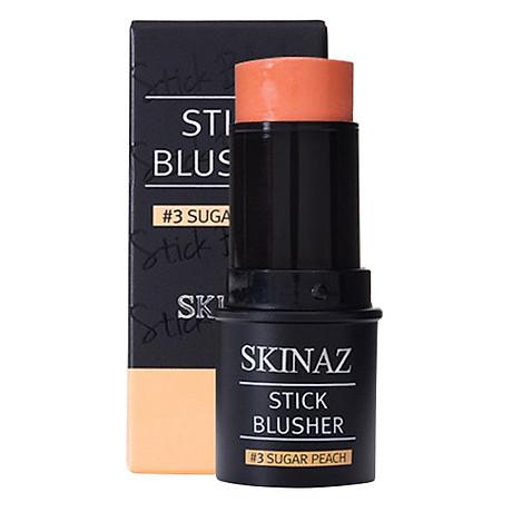 Kem Má Hồng Skinaz Stick Blusher ( 3 Sugar Peach) (8ml) 1