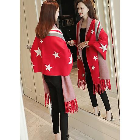 Áo khoác len in họa tiết ngôi sao GOTI1474330 2