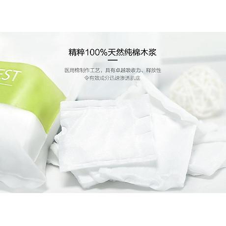 Combo 2 gói Bông Tẩy trang Miniso Japan (180 miếng x 2 gói) 4